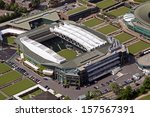Aerial View Of Wimbledon Centre ...
