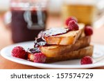 French Toast With Raspberry Ja...