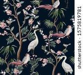 seamless pattern in chinoiserie ...   Shutterstock .eps vector #1575819781