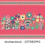 floral background | Shutterstock .eps vector #157582991