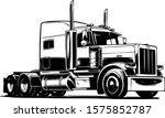 classic american truck. vector... | Shutterstock .eps vector #1575852787