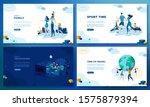 trendy flat illustration. set...   Shutterstock .eps vector #1575879394