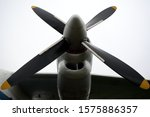 Propeller Of A Plane. Air Inle...