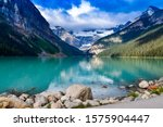 Lake Louise Reflections On The...
