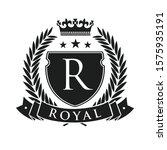 royal. heraldic emblem shield...   Shutterstock .eps vector #1575935191