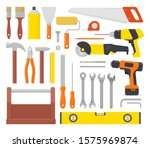 Collection Of Working Tools....