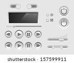 ui kit. vector user interface...