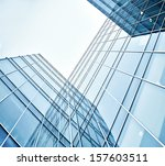 panoramic and perspective wide... | Shutterstock . vector #157603511