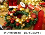 Christmas Wreath And Spruce...