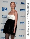 Small photo of London, United Kingdom- December 1 2019: Phoebe Dynevor at the 22nd British Independent Film Awards in London.