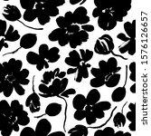 abstract blooming ink vector... | Shutterstock .eps vector #1576126657
