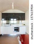 interior  beautiful apartment ... | Shutterstock . vector #157615904