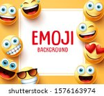 emoji emoticons vector... | Shutterstock .eps vector #1576163974