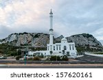 Picture White Mosque On Europa...