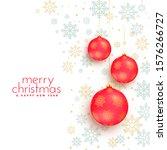 merry christmas white...   Shutterstock .eps vector #1576266727