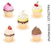 vector illustration set of... | Shutterstock .eps vector #157627994
