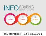 vector horizontal infographic... | Shutterstock .eps vector #1576311091