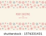 christmas snowflakes elements... | Shutterstock .eps vector #1576331431
