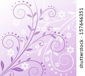vector floral background  ... | Shutterstock .eps vector #157646351