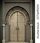 ancient doors  morocco