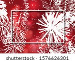silhouette of a christmas tree... | Shutterstock .eps vector #1576626301