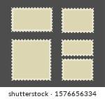 postage stamps frames. blank... | Shutterstock .eps vector #1576656334