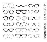 sunlight glasses. fashioned... | Shutterstock .eps vector #1576719844