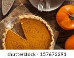 Homemade Delicious Pumpkin Pie...