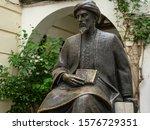 Bronze Statue Of Moshe Ben...