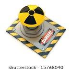 radioactive button.   Shutterstock . vector #15768040