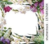 Delicate Floral Frame ...