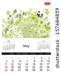 Floral Calendar 2014  May