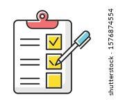 Survey Questionnaire Form Color ...