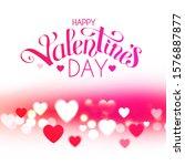 happy vanentine's day  feelings ... | Shutterstock .eps vector #1576887877