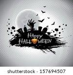 vector illustration on a... | Shutterstock .eps vector #157694507