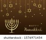 hanukkah. traditional hanukkah...   Shutterstock .eps vector #1576971454