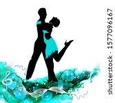 Abstraction Ballroom Dancing....