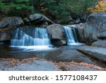 Screw Auger Falls in Grafton Notch State Park in Maine