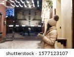 Stylish Girl Wearing In Winter...