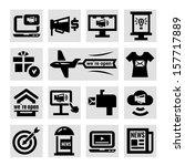 elegant marketing and... | Shutterstock .eps vector #157717889