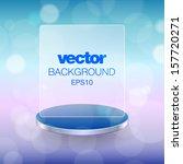 blue abstract light background. ... | Shutterstock .eps vector #157720271