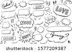Hand Drawn Pen Style Speech...