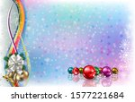 abstract light background with... | Shutterstock . vector #1577221684