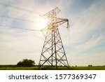 Electrical Net Of Poles On A...