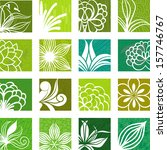 nature icons   Shutterstock .eps vector #157746767