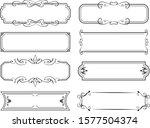 european luxury decorative...   Shutterstock .eps vector #1577504374