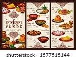 Indian Cuisine Food Menu ...