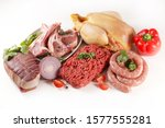 Assorted Of Raw Meats  Beef ...