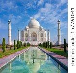 Taj Mahal In Agra  Uttar...
