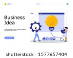business ideas vector...